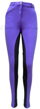 Canter Childrens Purple/Navy Jodhpurs